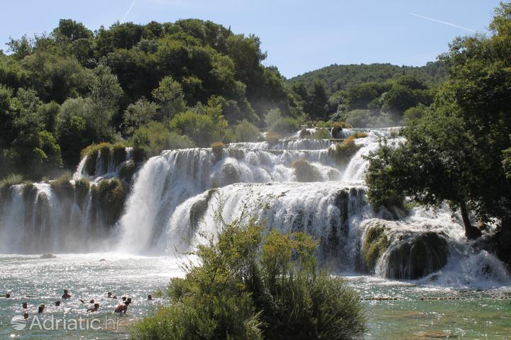 Bogatić in riviera Krka (Sjeverna Dalmacija)