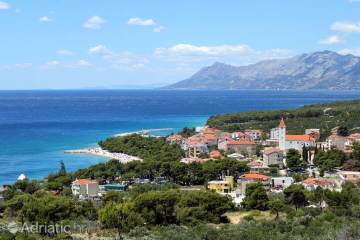 Promajna Makarska riviérán (Srednja Dalmacija)