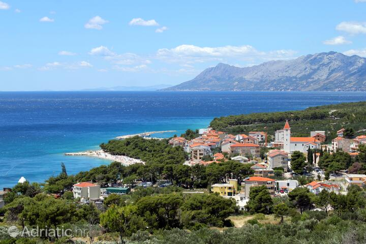 Promajna u rivijeri Makarska (Srednja Dalmacija)