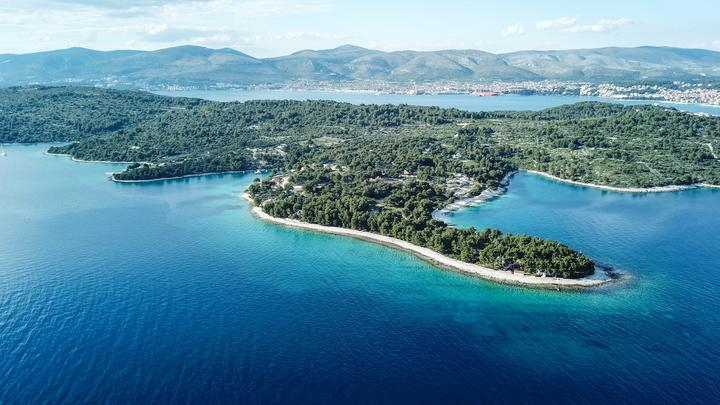 Duga na ostrově Čiovo (Střední Dalmácie)