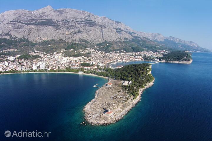 Makarska na riviére Makarska (Srednja Dalmacija)
