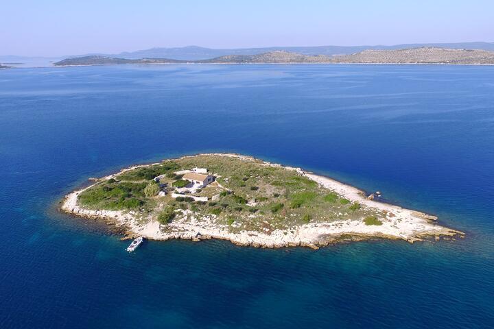 Ravna Sika on the island Kornati (Sjeverna Dalmacija)