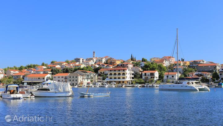 Seget Vranjica na rivieri Trogir (Srednja Dalmacija)