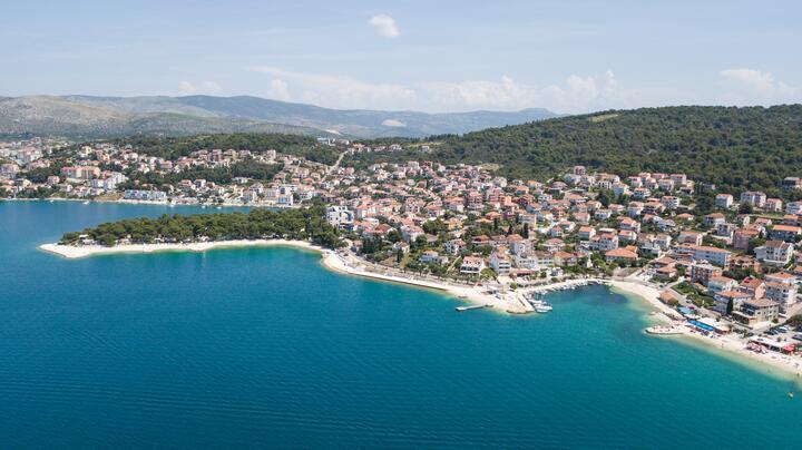 Okrug Gornji na otoku Čiovo (Srednja Dalmacija)