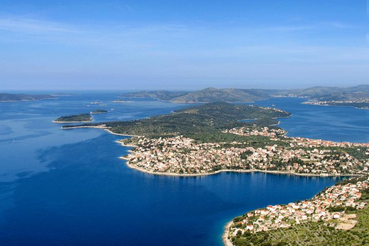 Bušinci sull'isola Čiovo (Srednja Dalmacija)