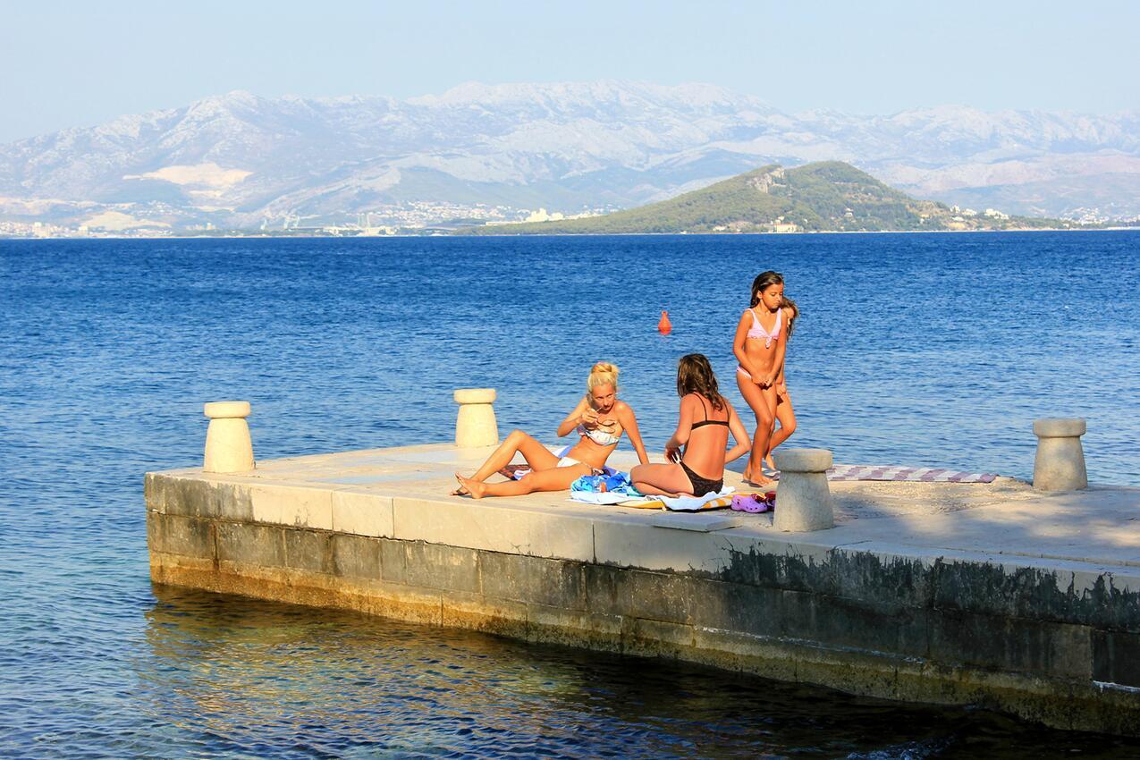 Ferienwohnung Studio Appartment im Ort Slatine (iovo), Kapazität 2+1 (1013566), Slatine, , Dalmatien, Kroatien, Bild 10