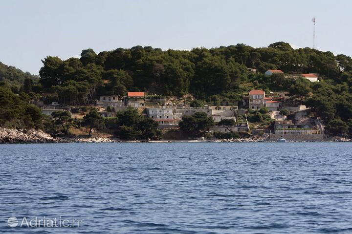Saplunara Mljet szigeten (Južna Dalmacija)
