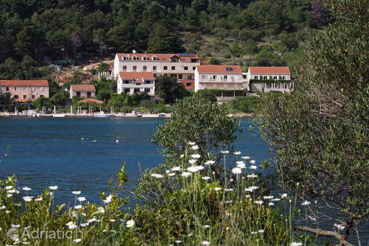 Soline Mljet szigeten (Južna Dalmacija)