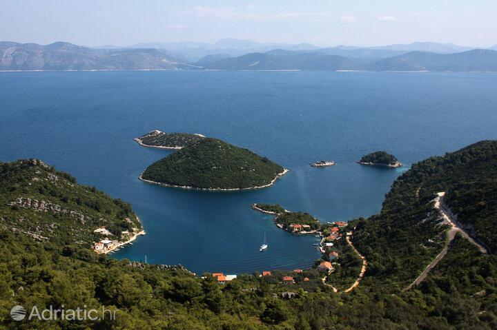 Prožurska Luka on the island Mljet (Južna Dalmacija)
