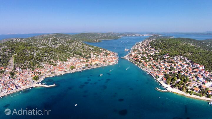 Tisno Murter szigeten (Sjeverna Dalmacija)