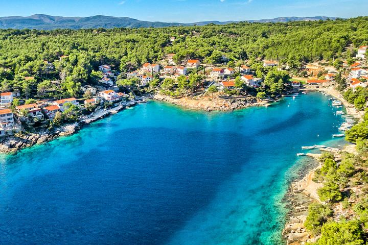 Basina on the island Hvar (Central Dalmatia)