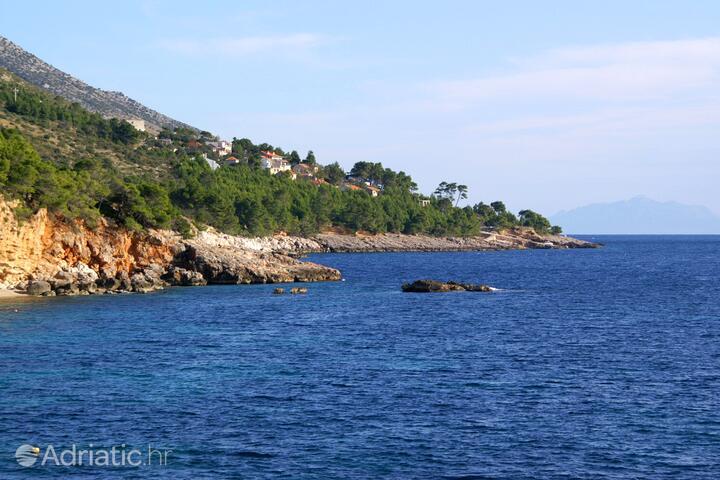 Bojanić Bad на острове Hvar (Srednja Dalmacija)