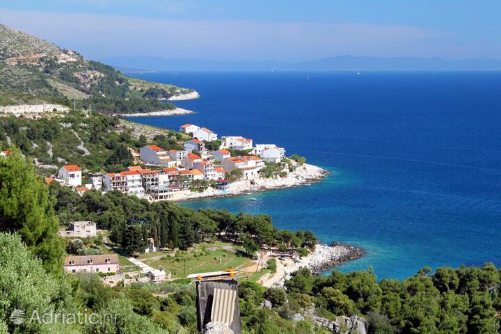Milna sur l'île Hvar (Srednja Dalmacija)