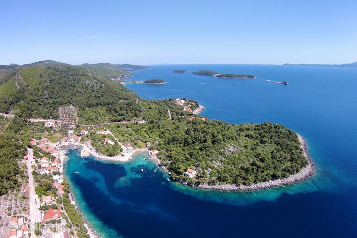 Gršćica on the island Korčula (Južna Dalmacija)