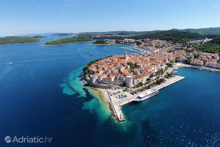 Korčula on the island Korčula (Južna Dalmacija)