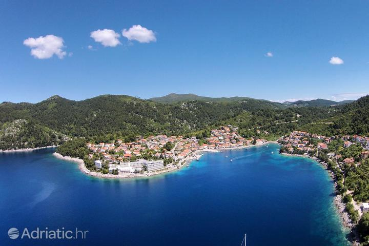 Brna on the island Korčula (Južna Dalmacija)