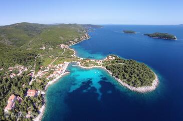 Prižba on the island Korčula (Južna Dalmacija)