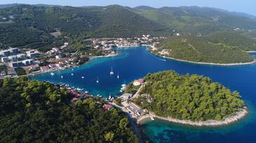 Žrnovska Banja on the island Korčula (Južna Dalmacija)