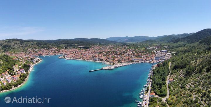 Vela Luka sur l'île Korčula (Južna Dalmacija)