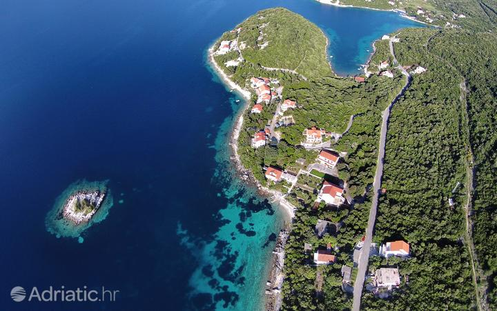 Tri Žala on the island Korčula (Južna Dalmacija)
