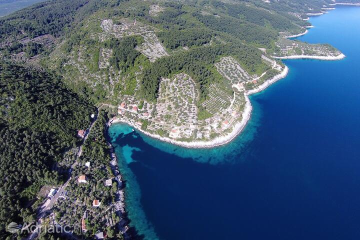 Črnja Luka on the island Korčula (Južna Dalmacija)