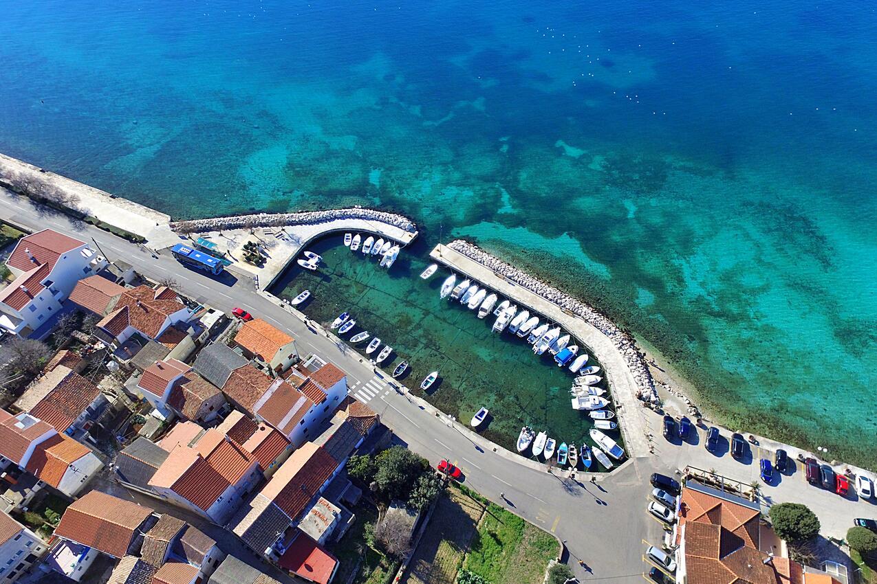 Zadar - Diklo na riviére Zadar (Severná Dalmácia)