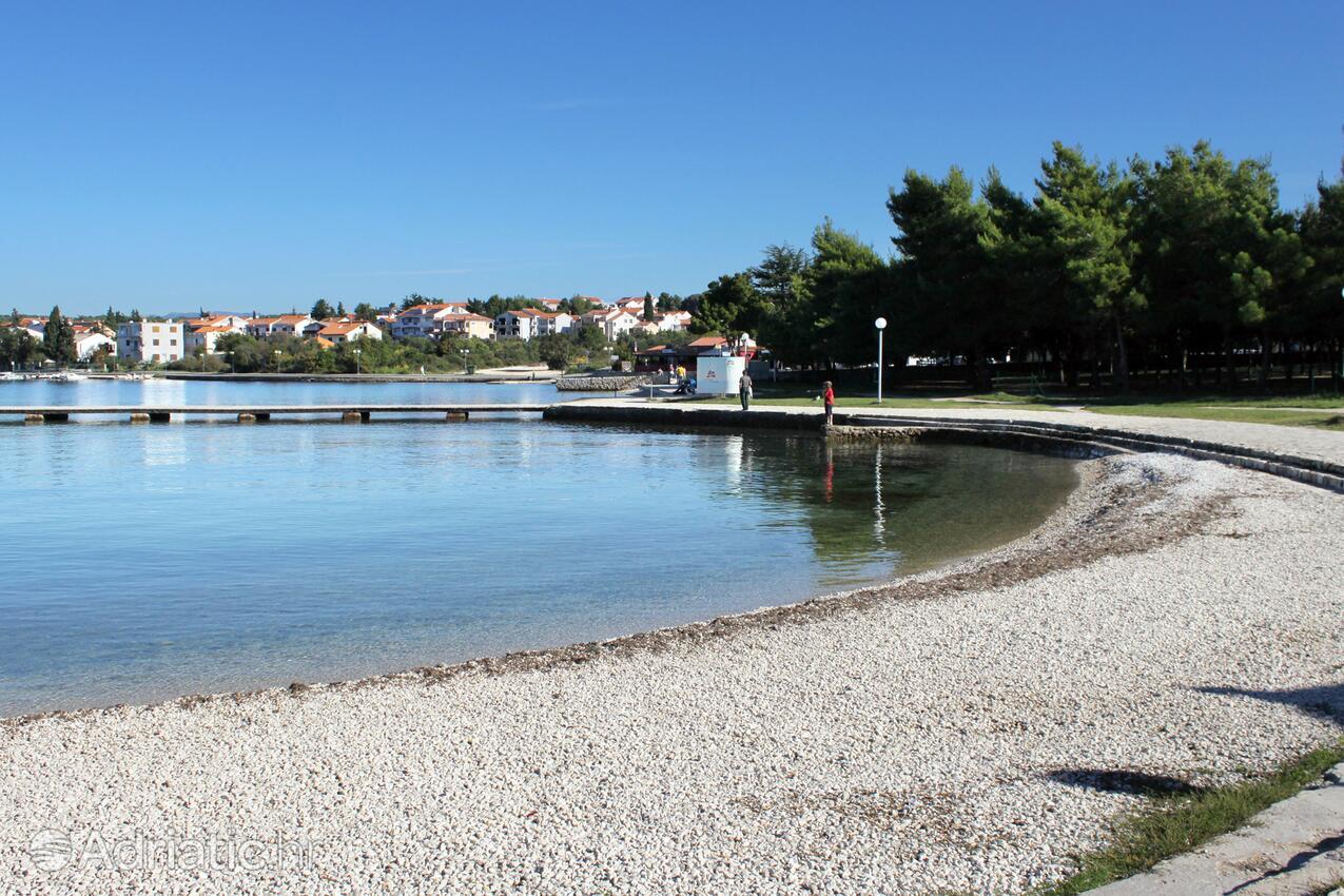 Zadar - Diklo, pláže v okolí - riviéra Zadar.