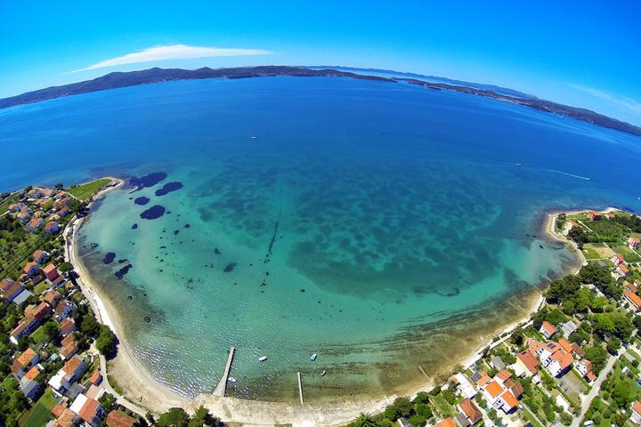 Sukošan na rivieri Zadar (Sjeverna Dalmacija)