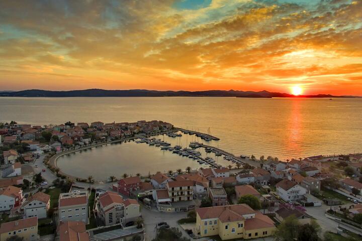 Bibinje in riviera Zadar (North Dalmatia)