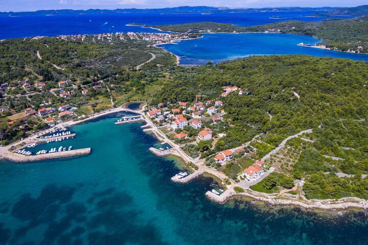 Ždrelac on the island Pašman (Sjeverna Dalmacija)