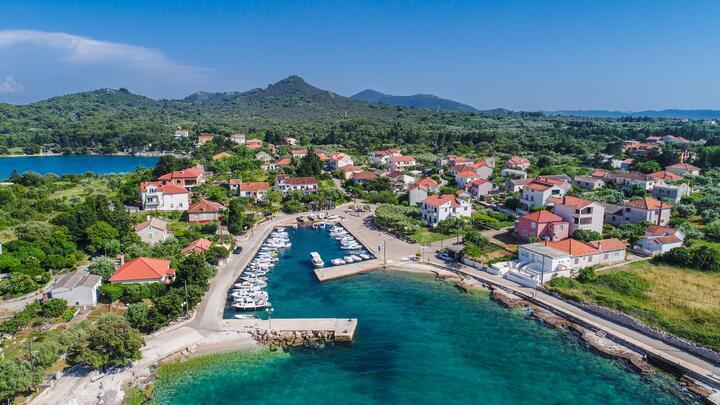 Ugljan on the island Ugljan (Sjeverna Dalmacija)