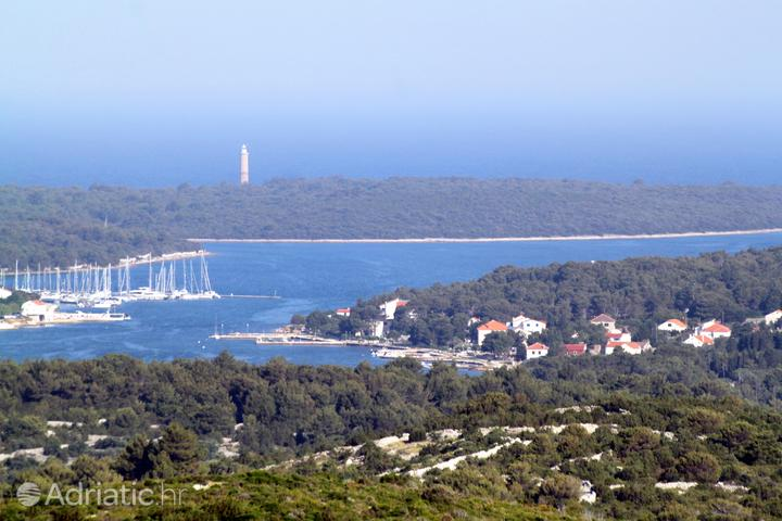 Verunić на острове Dugi otok (Sjeverna Dalmacija)