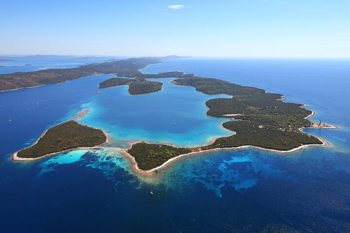Veli Rat на острове Dugi otok (Sjeverna Dalmacija)