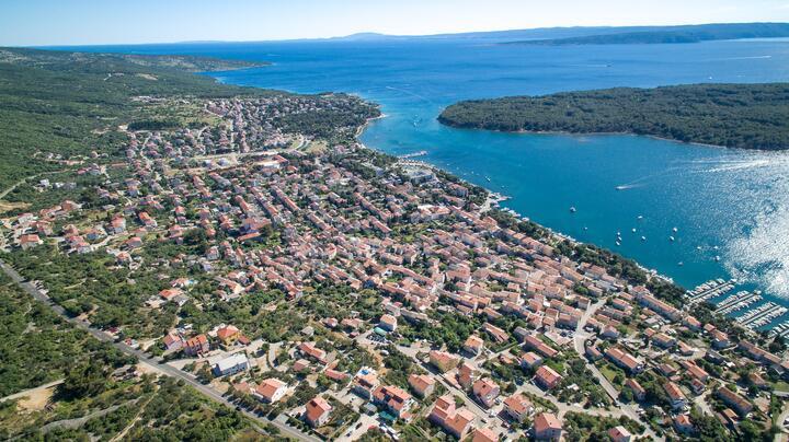 Punat on the island Krk (Kvarner)