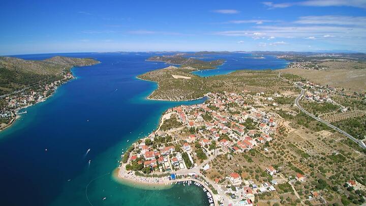 Grebaštica in riviera Šibenik (Sjeverna Dalmacija)