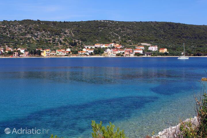 Soline on the island Dugi otok (Sjeverna Dalmacija)