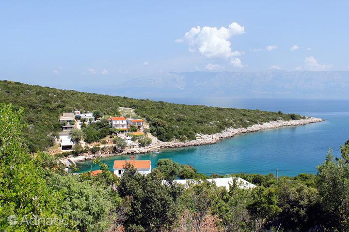 Zaraće (Gdinj) on the island Hvar (Srednja Dalmacija)