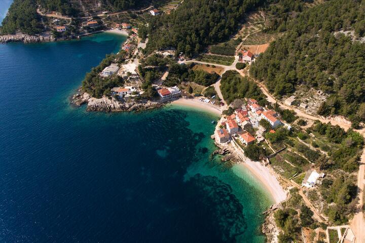 Tvrdni Dolac on the island Hvar (Srednja Dalmacija)