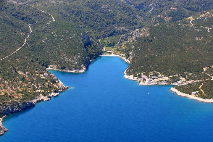Pokrivenik sull'isola Hvar (Srednja Dalmacija)