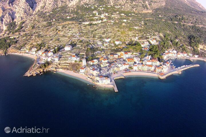 Drašnice Makarska riviérán (Srednja Dalmacija)