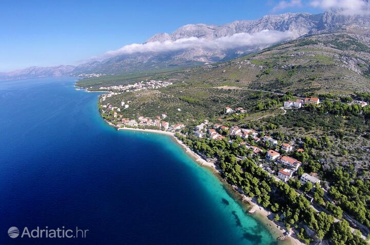 Bratuš an der Riviera Makarska (Srednja Dalmacija)