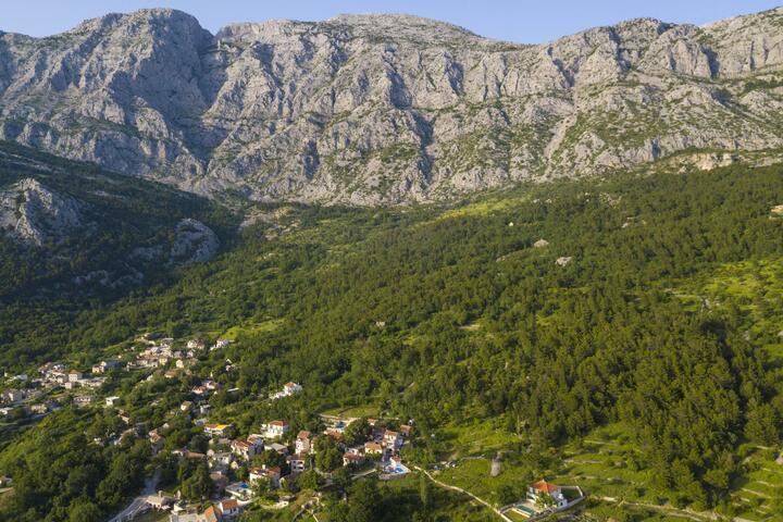 Gornji Tučepi Makarska riviérán (Srednja Dalmacija)