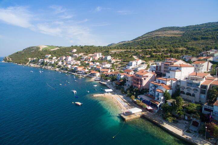Komarna an der Riviera Ušće Neretve (Južna Dalmacija)