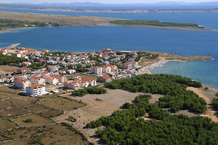 Povljana on the island Pag (Kvarner)