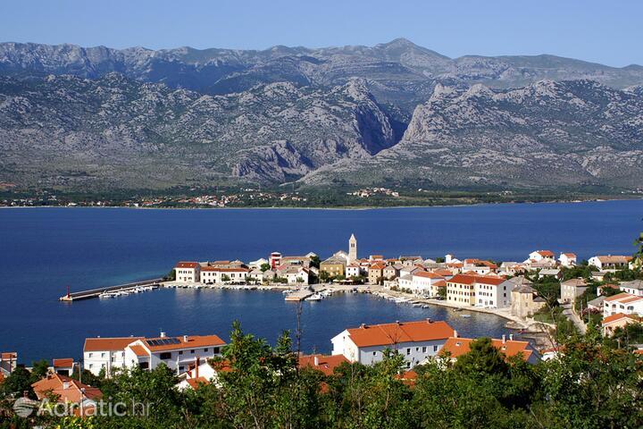 Vinjerac riviéra Zadar (Sjeverna Dalmacija)