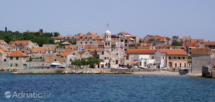 Šepurine on the island Prvić (Sjeverna Dalmacija)