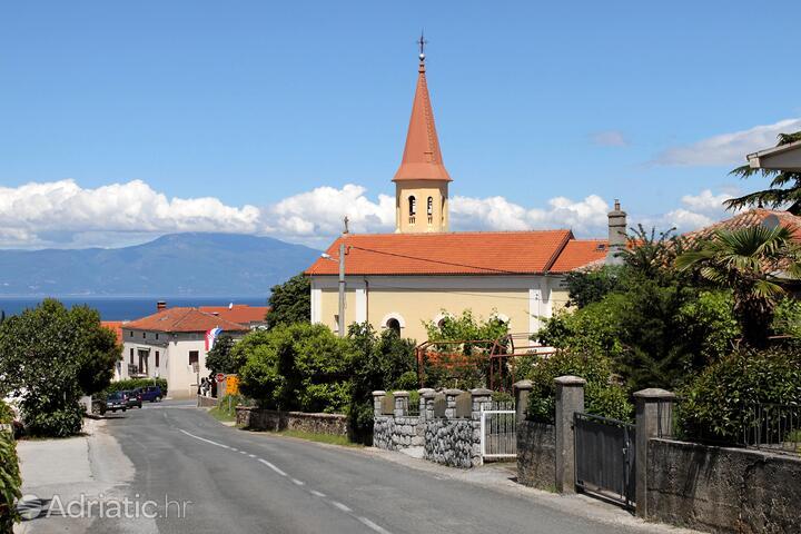 Sveti Vid on the island Krk (Kvarner)