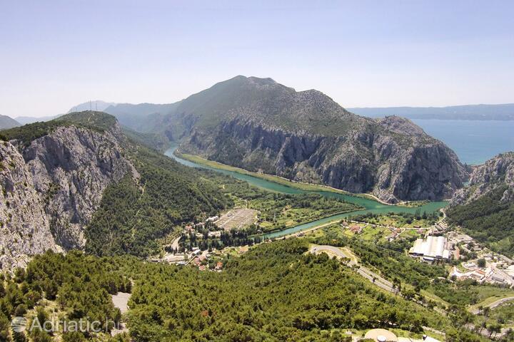 Zakučac in riviera Omiš (Srednja Dalmacija)