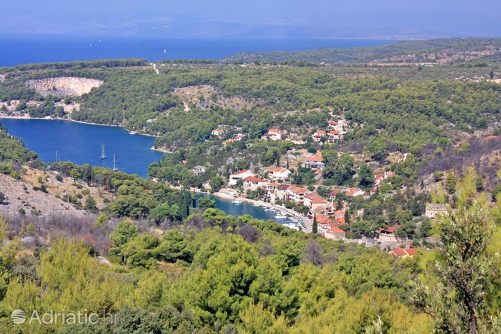 Bobovišća na Moru on the island Brač (Srednja Dalmacija)