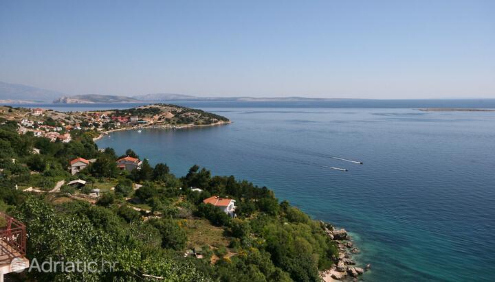 Stara Baška on the island Krk (Kvarner)